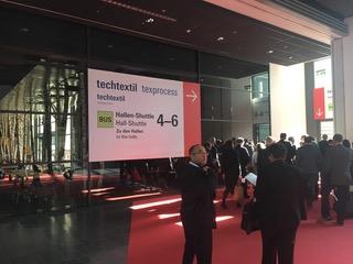 Textprocess Messe in Frankfurt