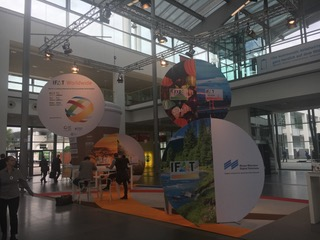 IFAT Messe in München Eingang